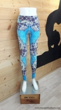 Chandra Yoga  Legging-  Blue