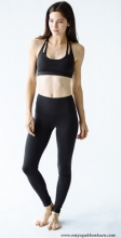 High Waisted Fonda Legging - Black