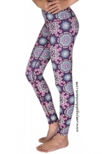 MAGENTA MANDALA FULL-LENGTH LEGGINGS