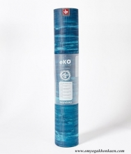 Manduka eKO Yoga Mat 5 mm Limited Edition - Pacific Blue - Marbled
