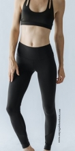 Marina Mesh Legging - Black