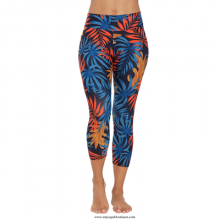 Patterned Legging - Tropical Palms Mixed
