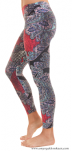 Patterned Legging - Double Effect