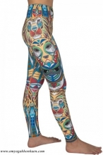 TRIBAL TOTEM  FULL-LENGTH LEGGINGS