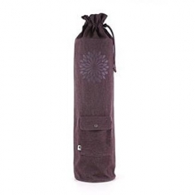 easyoga Chakra Canvas Bag - Dark Purple