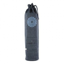 easyoga Chakra Canvas Bag - Dark Gray Blue
