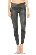 leggings airbrush - black camo
